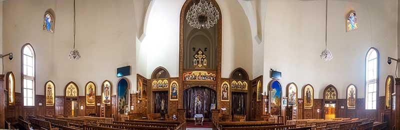 بانوراما كنيسة مارجرجس