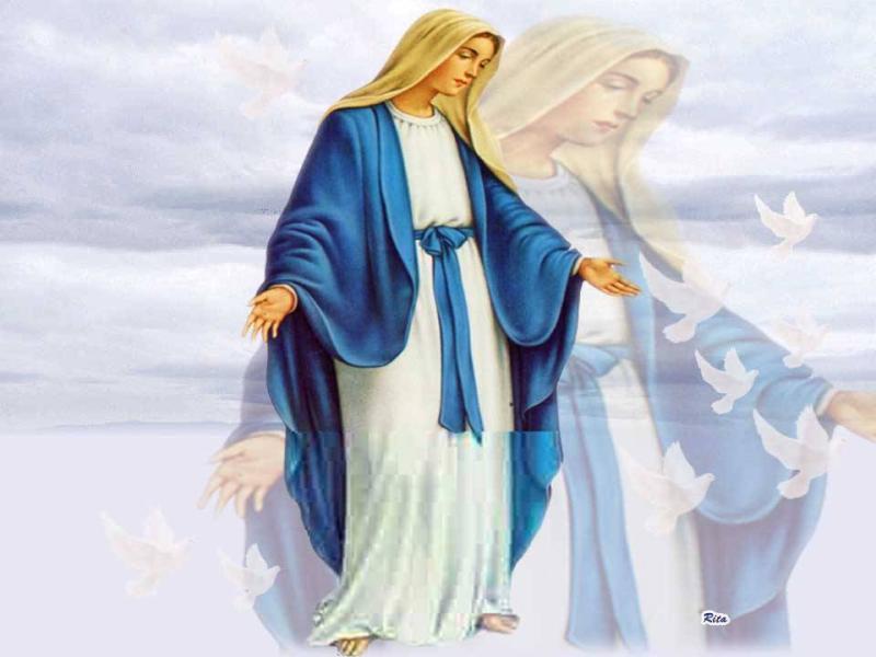 رموز السيدة العذراء مريم