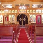 تسمية الكنائس باسماء العذراء والسمائيين والقديسين