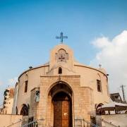 الصليب فى المبنى الكنسى